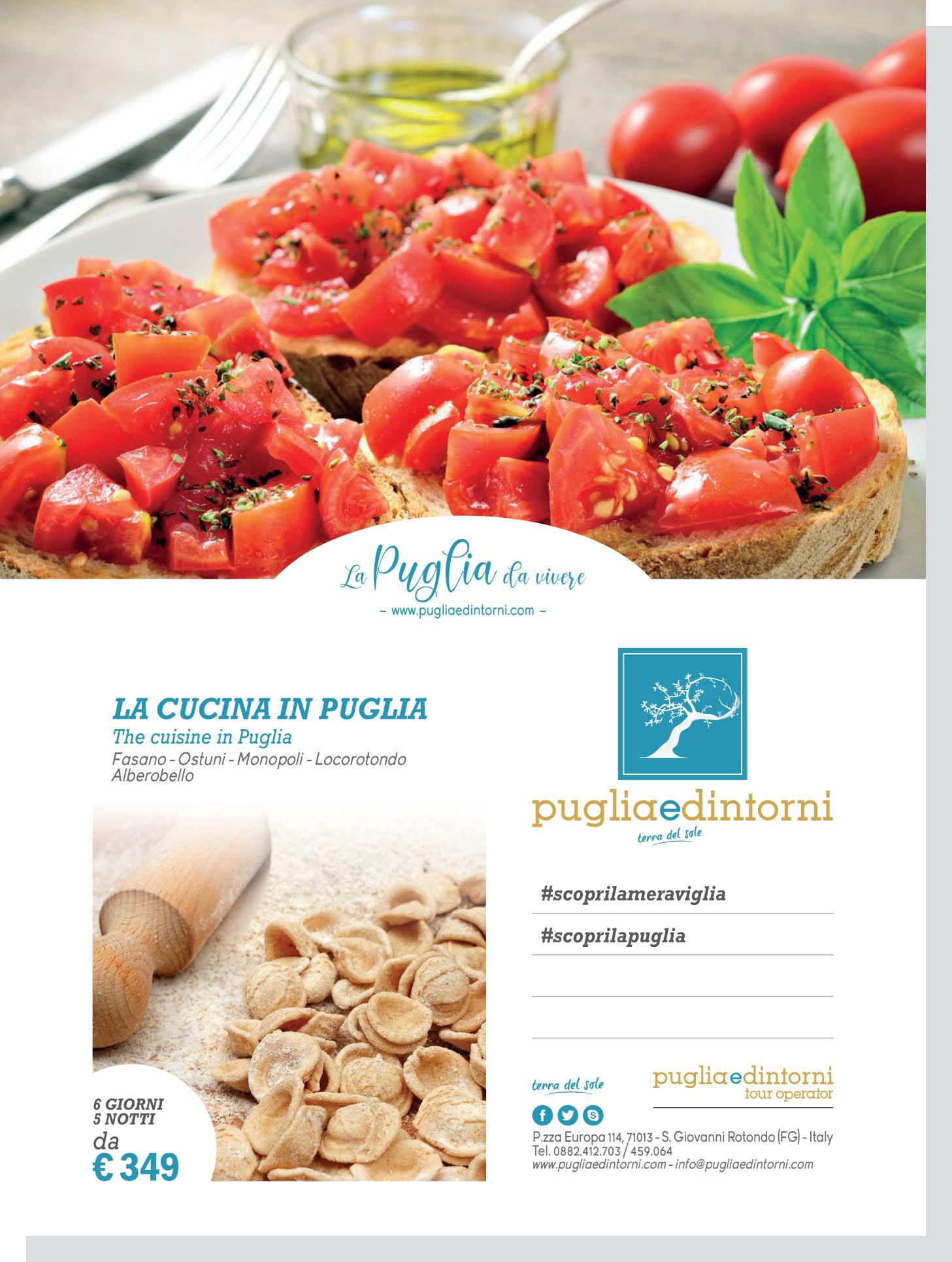 La Cucina in Puglia - Pugliaedintorni